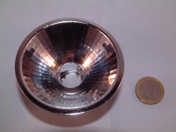 ALU-Reflektor  Flood 70mm Facette